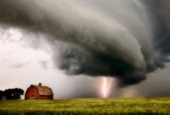 Prairie Storm Clouds lightning storm
