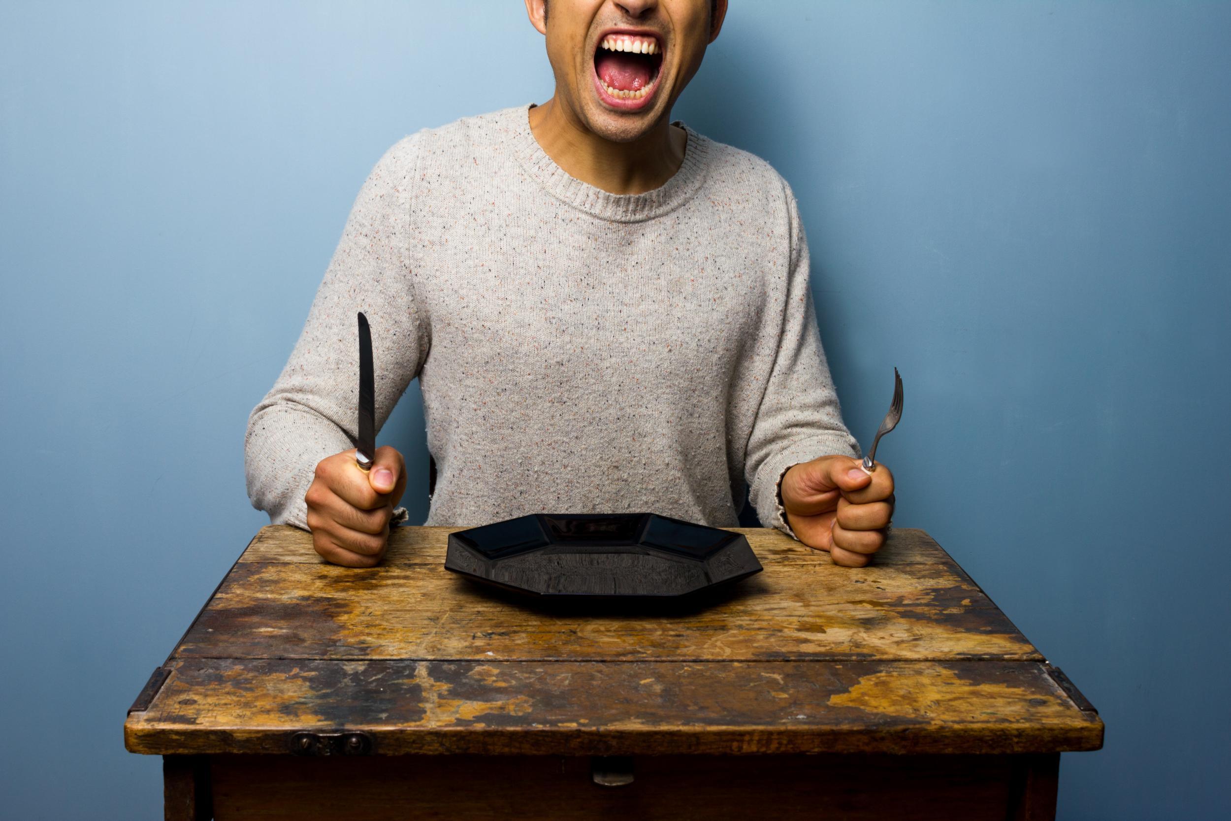 прикольные картинки голодный человек того, лицевую